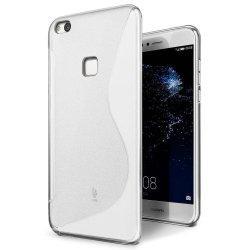 "Silikonski etui ""S"" za Huawei P10 Lite, transparent"