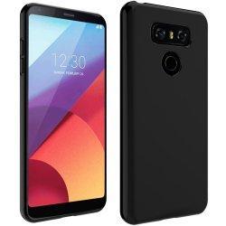 "Silikonski etui ""Slim"" 0,5mm, Črna barva-LG G6"