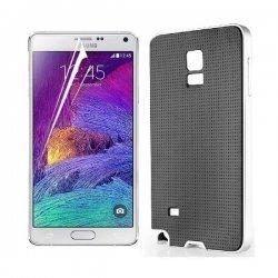 "Etui ""Armor"" za Samsung Galaxy Note 4, črno-srebrna barva"
