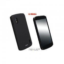 Etui Krusell ColorCover za LG Nexus 4, črna barva