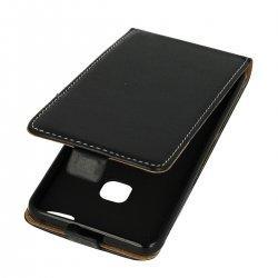 "Preklopna torbica, etui ""flexi"" za Huawei P10 Lite, črna barva"