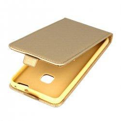 "Preklopna torbica, etui ""flexi"" za Huawei P10 Lite, zlata barva"