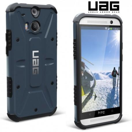 Etui za HTC One M8 Urban Armor Gear+Folija ekrana, slate-black