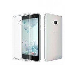 Silikonski etui za HTC U Play, 0,3mm, Prozorna barva