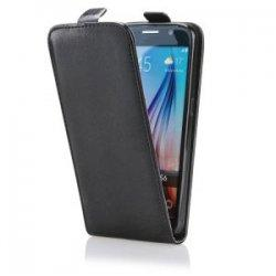 "Preklopna torbica, etui ""flexi"" za Huawei P10, črna barva"