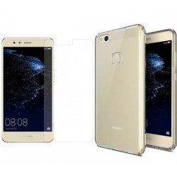 Silikonski etui, prozoren+ zaščitno steklo - Huawei P10 Lite