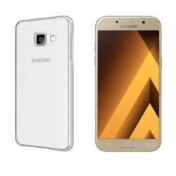 Silikonski etui, prozoren +zaščitna folija zaslona za Samsung Galaxy A5 2017
