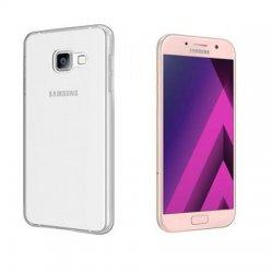 Silikonski etui, prozoren+ zaščitno steklo za Samsung Galaxy A5 2017