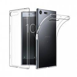 Silikonski etui za Sony Xperia XZ Premium, 0,3mm, Prozorna barva