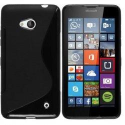 Silikon etui S za Microsoft Lumia 640 LTE, Črna barva