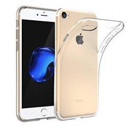 Silikonski etui za Apple iPhone 7, 0,3mm, Prozorna barva