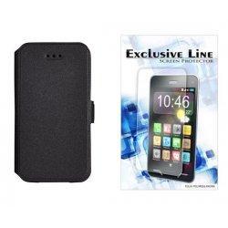 """Etui """"Slim"""" za Samsung Galaxy Xcover 4, Črna barva +zaščitna folija"""