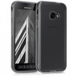 Silikonski etui za Samsung Galaxy Xcover 4, 0,3mm, Prozorna barva