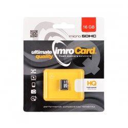 Spominska kartica Imro, micro SDHC 16 GB, Class 10